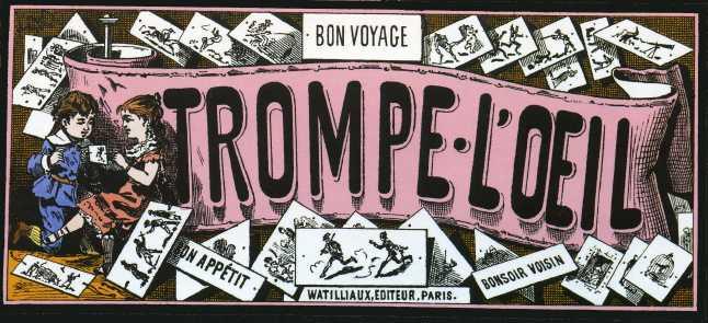 Le Thaumatrope TROMPE-L'OEIL