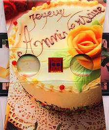 Un gâteau d'anniversaire - Visionneuse stéréoscopique