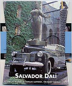 Salvador Dali GALA's Rainy Cadillac - 3D viewer