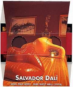 Salvador Dali Mae West Hall - a Stereososcope