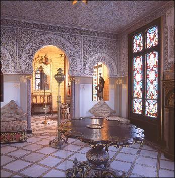Le Château de Alexandre DUMAS à Port Marly - La chambre mauresque