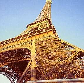 La Tour Eiffel de Paris - vue stéréoscopique