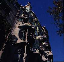 La Casa Battlo by Antonio GAUDI - stereoscopic view