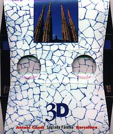 Antonio Gaudi La Sagrada Familia - 3D viewer