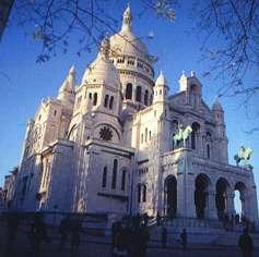Montmartre - vue stéréoscopique