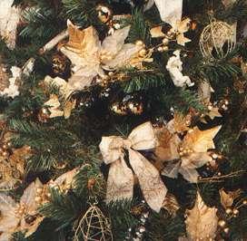 a Christmas tree - stereoscopic view
