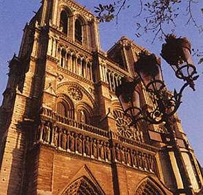 Notre-Dame de Paris - vue stéréoscopique