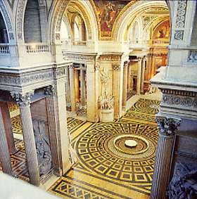 Le Panthéon de Paris - vue stéréoscopique