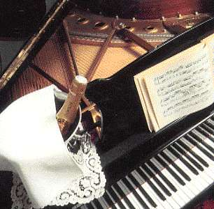 Piano & Champagne ! - stereoscopic view