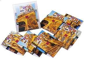 PARIS EN 3D - une collection de vues stéréoscopiques