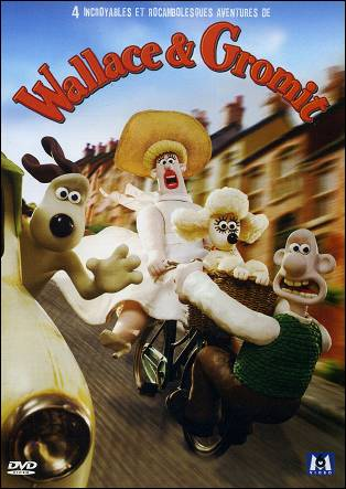 WALLACE & GROMIT 4 incroyables et rocambolesques aventures DVD
