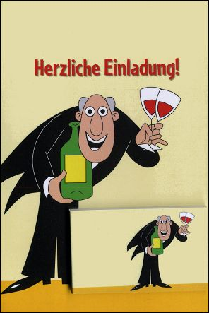 PROSIT ! - A flip-book and its greetings card (Germany - 2007)