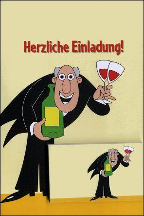 A LA TIENNE ! - Un flip-book et sa carte de voeux (Allemagne - 2007) - Le flip-book et la carte de voeux