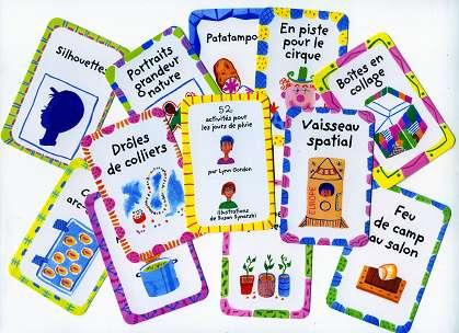 52 Rainy Day Activities - Few cards