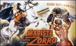 Maciste contre Zorro - affiche