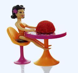 une délicieuse fraise TAGADA