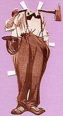 Charlie CHAPLIN Fireman