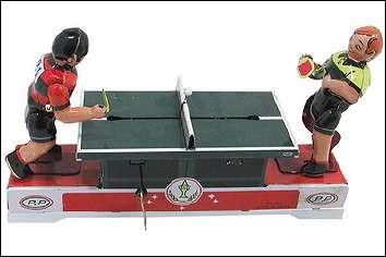 Les joueurs de Ping-Pong mecaniques