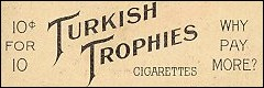 Turkish Trophies Cigarettes