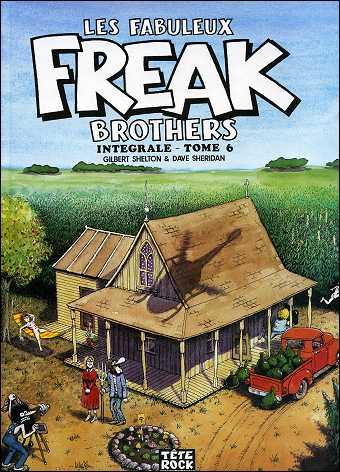 Les fabuleux FREAK BROTHERS de Gilbert SHELTON - couverture du volume 2