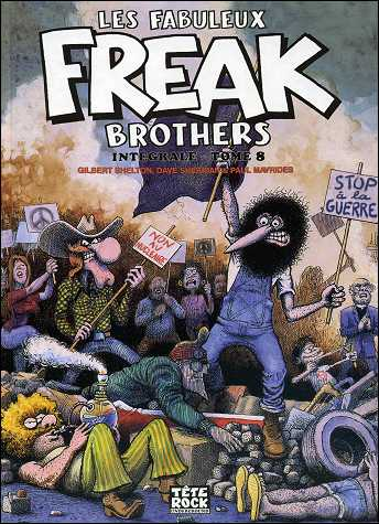 Les fabuleux FREAK BROTHERS de Gilbert SHELTON - couverture du volume 4
