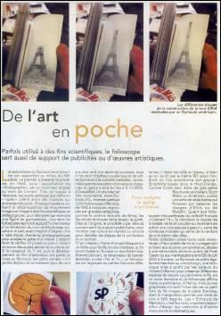 L'EST REPUBLICAIN - Edition du 16 Avril 2006