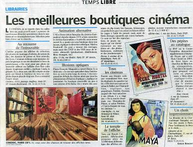 LE PARISIEN - Edition du 6 Septembre 2007
