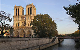 The Cathedral of Notre-Dame de Paris on Wikipédia