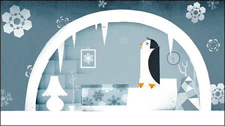 """LE PINGOUIN QUI AVAIT FROID"" from the book by Philip GIORDANO"