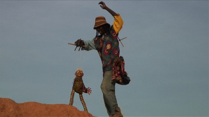 Puppets from Burkina Faso - photograph
