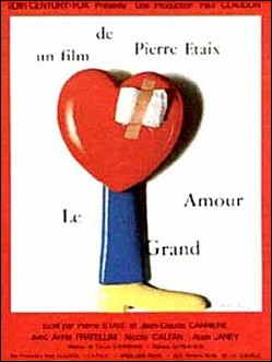 LE GRAND AMOUR - Pierre ETAIX Movie Poster