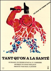 TANT QU'ON A LA SANTE - Pierre ETAIX Movie Poster