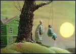 One Day a Man Bought a House - an animated film by Piotr SAPEGIN - Image