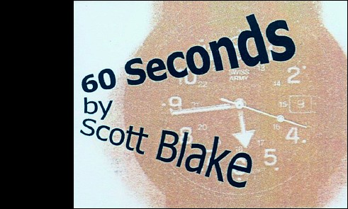 La couverture recto du flipbook de Scott BLAKE