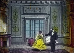 Valse excentrique (a PATHÉ frères production with BODONI & SOLINSKI from Eldorado, Paris - 1903 - 2 min)