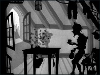 The Gallant Little Tailor (Le Vaillant Petit Tailleur - 1954) - un film de Lotte Reiniger - Image