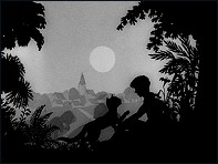 Puss in Boots (Le Chat Botté - 1954) - un film de Lotte Reiniger - Image