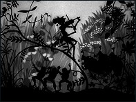 The Grasshopper and the Ant (La Cigale et la Fourmi - 1954) - un film de Lotte Reiniger - Image