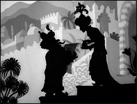 The Caliph Stork (1954) - un film de Lotte Reiniger - Image