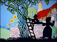 Jack and the Beanstalk (Jack et le Haricot Magique - 1955) - un film de Lotte Reiniger - Image