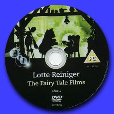 Lotte Reiniger THE FAIRY TALE FILMS - Image du DVD 1