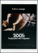 French Movie Poster  2001: A Space Odyssey  1966