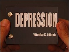 DEPRESSION - a flip book by Wiebe K. FÖLSCH (Germany - 2007) - cover