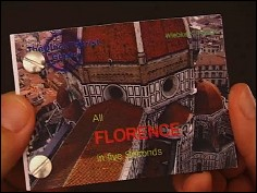 All Florence in five seconds - a flip book by Wiebe K. FÖLSCH (Germany - 2006) - cover