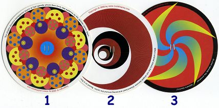 3 ROTORELIEFS de Joe FREEDMAN  (USA)