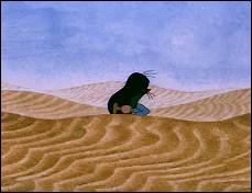 The Mole in the Desert - Krtek na pousti (1975 - 7 min) - photogram
