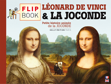 Flipbook : LEONARD DE VINCI & LA JOCONDE - couverture recto