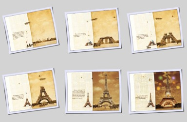 THE GREAT FLIP-BOOK OF THE EIFFEL TOWER - 6 pages in thumbnail