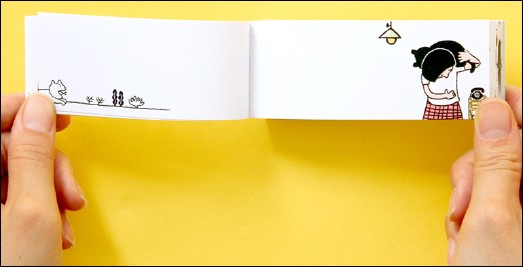 A picture of the flip-book
