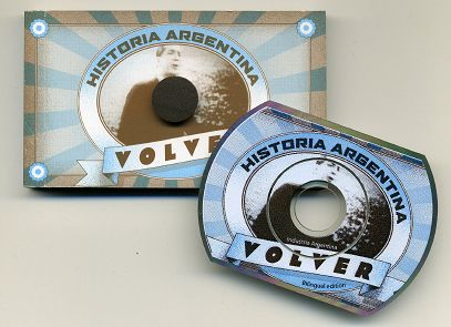Carlos GARDEL chante VOLVER - Le flip-book et son CD